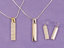 �125 silver top set, �155 gold top set